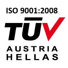 Φυτοχώματα Homofarm, Tuv Austria, ISO 9001:2008